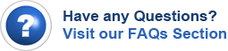 Have Question? Visit our FAQs Section!